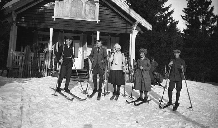 Bondehytta Nittedal Ca 1918-1920